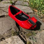 Roter Schuh in Brugg